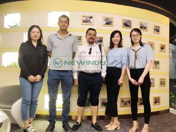 Ecuador Clients Visited EONMAC Office